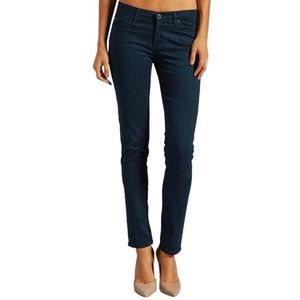 AG Adriano Goldschmied Stilt Cigarette Navy Skinny